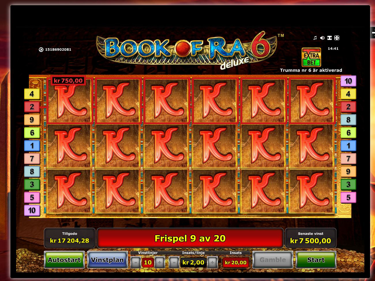 book of ra no deposit casino