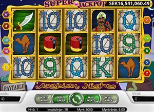 arabian nights jackpot slots