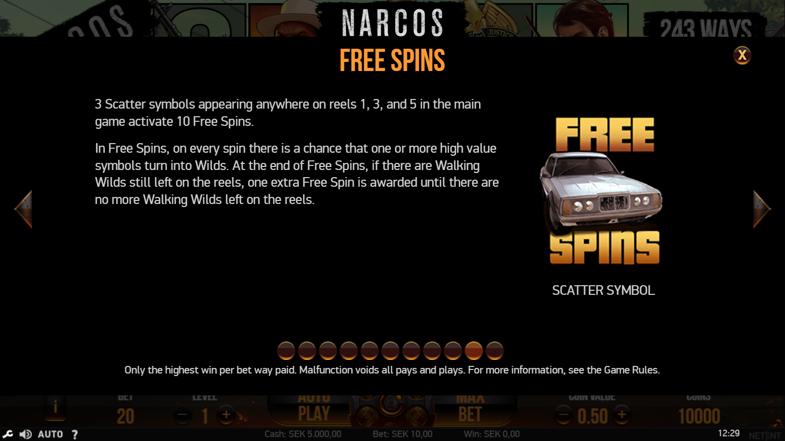 narcos-free-spins